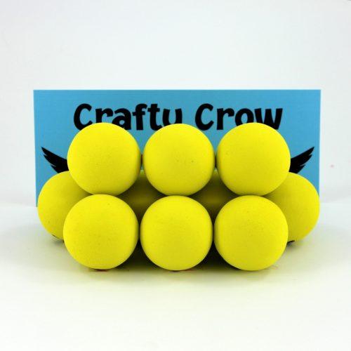 Foam craft balls